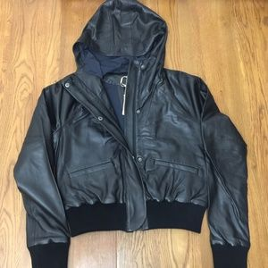 Under Armour Women's Misty Copeland Leather Bomber
